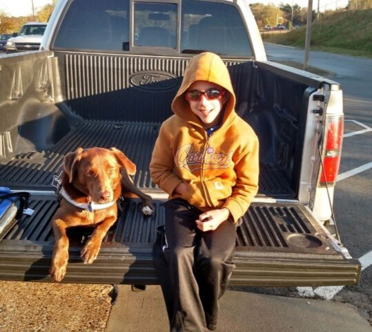 Giving for New Service Dog for Brady (update June 4)