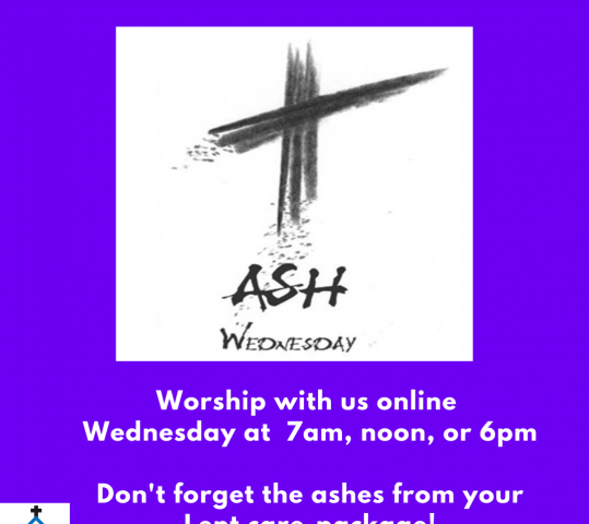 Ash Wednesday Service (Feb 17, 2021)