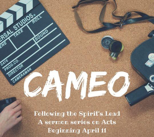 Online Worship: Cameo #4: Tabitha (May 2, 2021)